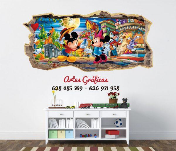 Vinilo Mickey & Minnie