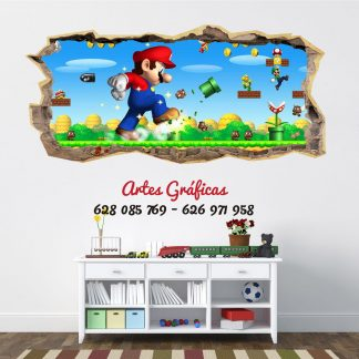 Vinilo Mario Bros