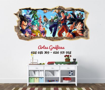 Vinilo infantil mod03 Dragon Ball