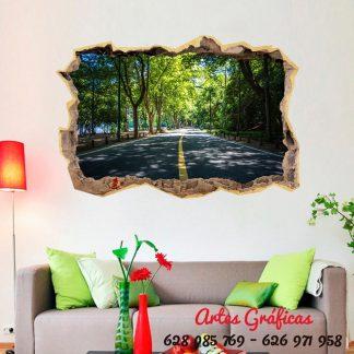 Vinilo decorativo carretera